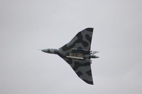 Avro Vulcan aircraft in flight