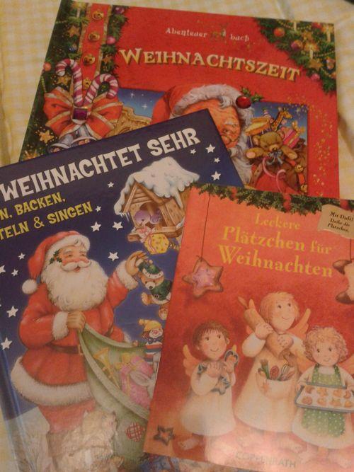 German Kid's Christmas books