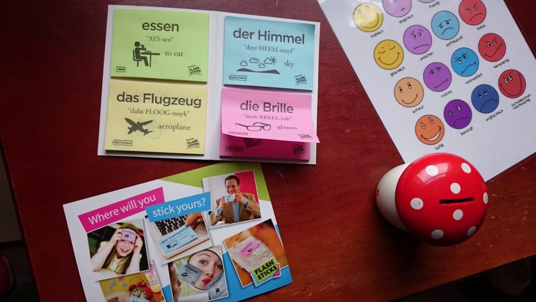 FlashSticks German Beginner Pack