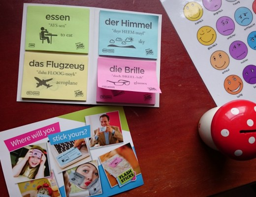 FlashSticks German Beginner Pack