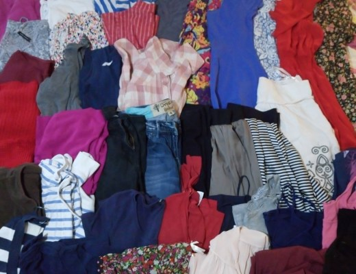 40 Items Clothing Lent Give Away