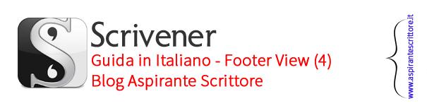 Scrivener guida italiano: footer view (4)