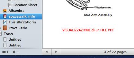 Scrivener guida italiano: footer view PDF