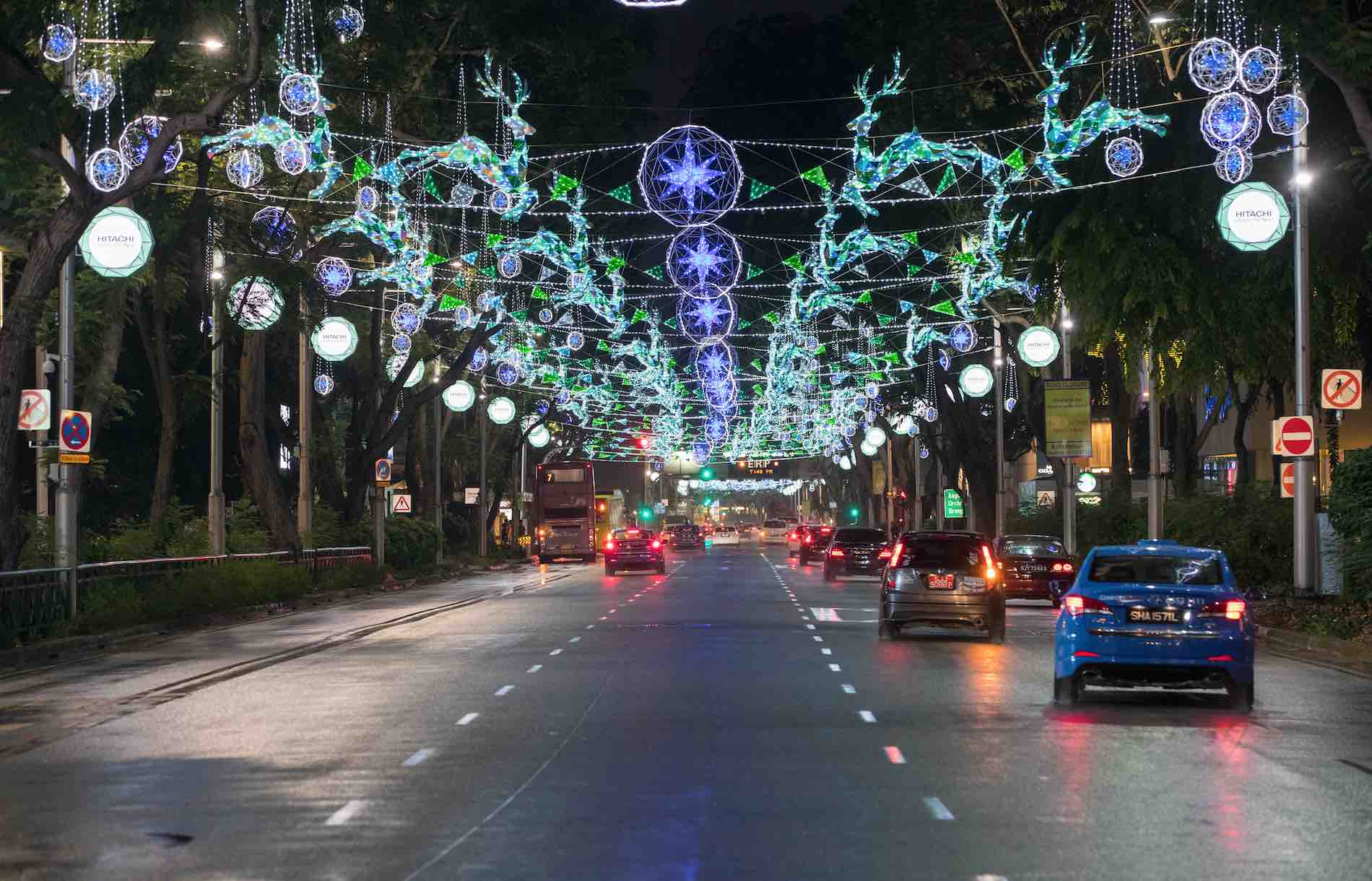 Orchard Road Festive Light Up Christmas On A Great