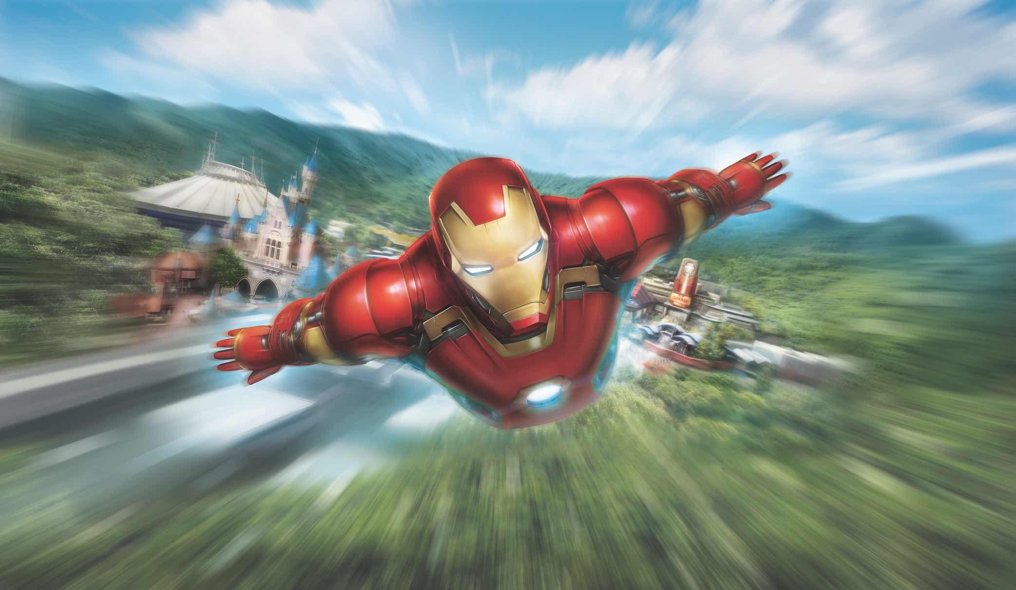 Hong Kong Disneyland Adds Marvel Amp Frozen Themed