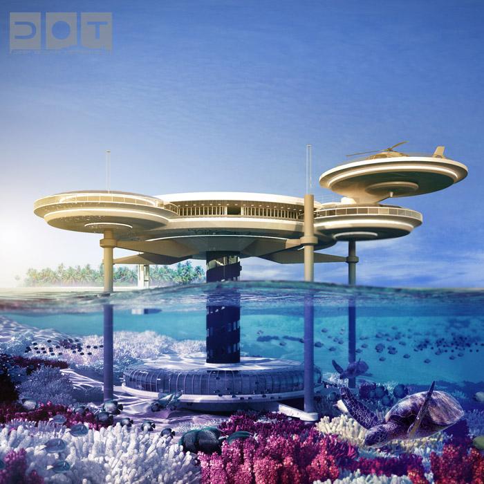 World's Top 7 Underwater Hotels