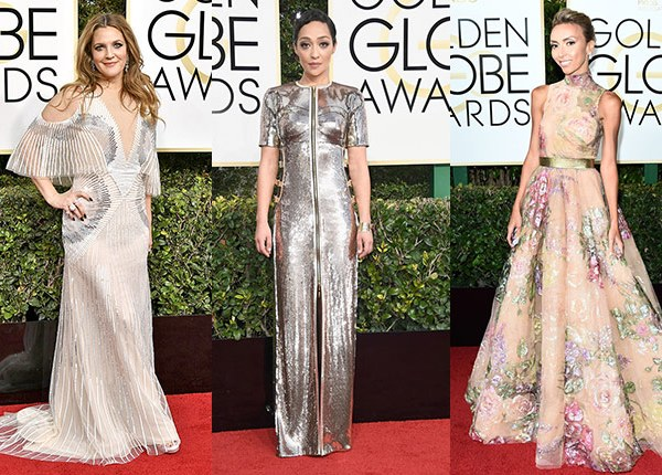 Golden Globes 2017: Top Looks from the Red Carpet