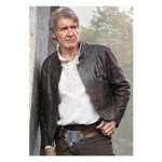 Harrison Ford Star Wars Han Solo Leather Jacket