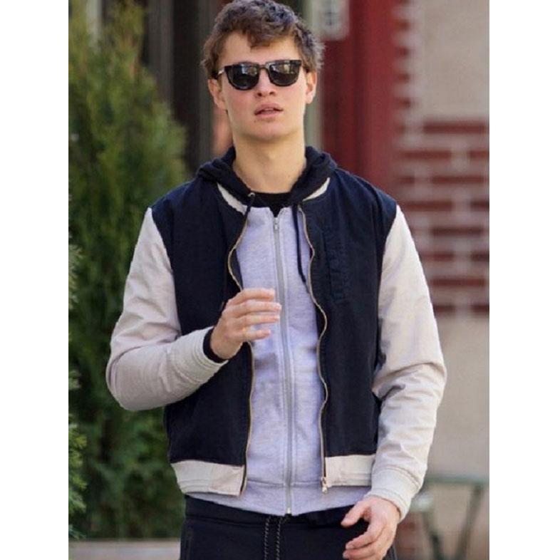 Ansel Elgort Baby Driver 2017 Jacket
