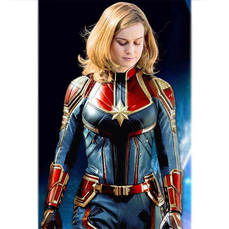 Captain Marvel Classic Costume Jacket