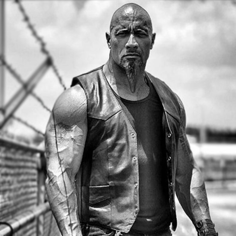 Dwayne Johnson The Fate of The Furious Vest
