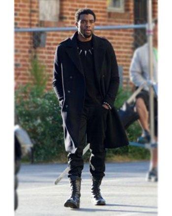 Avengers Infinity War Black Panther Chadwick Boseman Coat