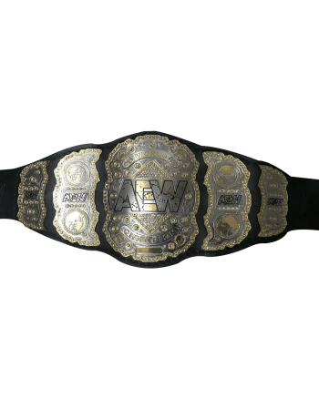 AEW World Heavyweight Wrestling Championship Belt