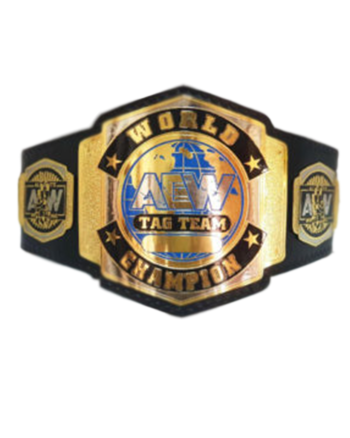 AEW World Tag Team Championship Belt
