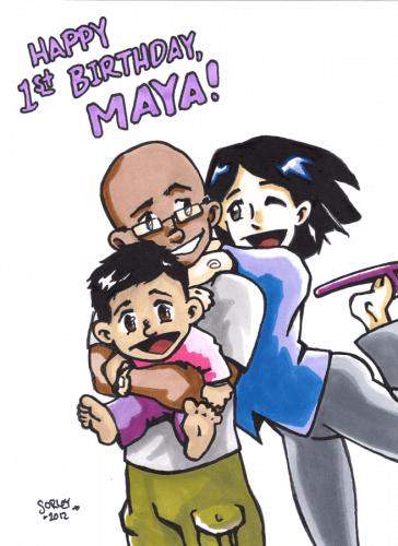 Maya's B-day