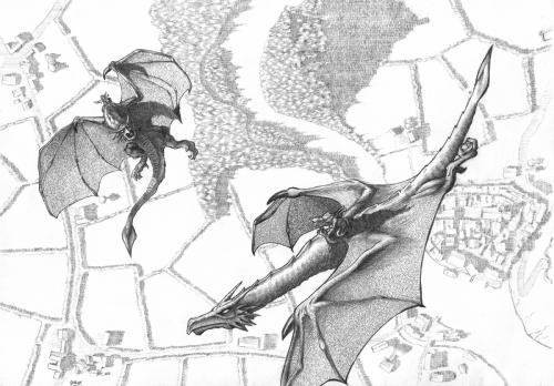 Dragons (Pencil)