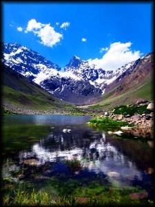 maipo lake reflection