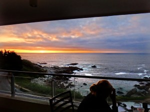 vina del mar sunset