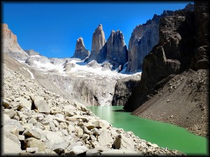 torres del paine las torres photo