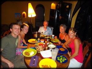 family dinner photo