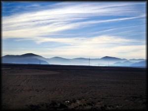 atacames desert hills photo