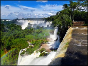 Iguanzu Falls Side