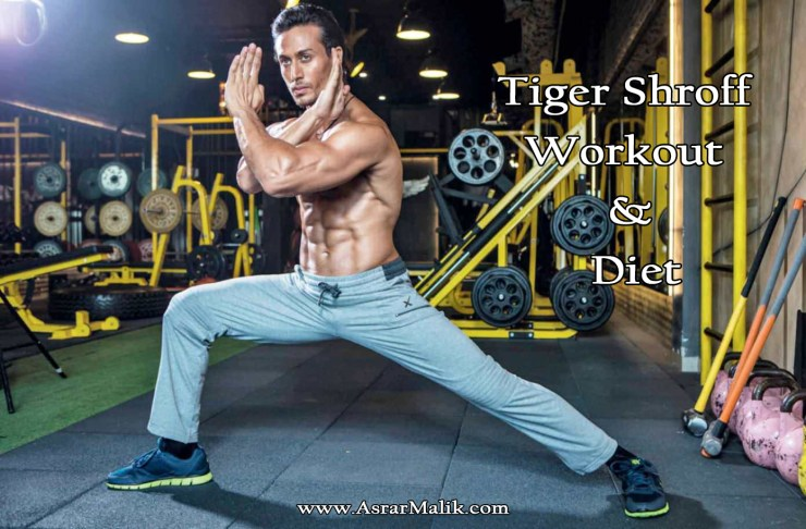 Bollywood Actors Tiger Shroff Workout and Diet