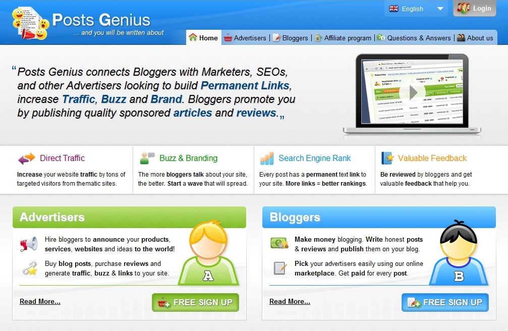 Make Money Blogging with PostGenius