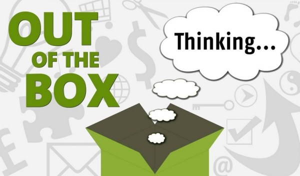 Out of the box thinking
