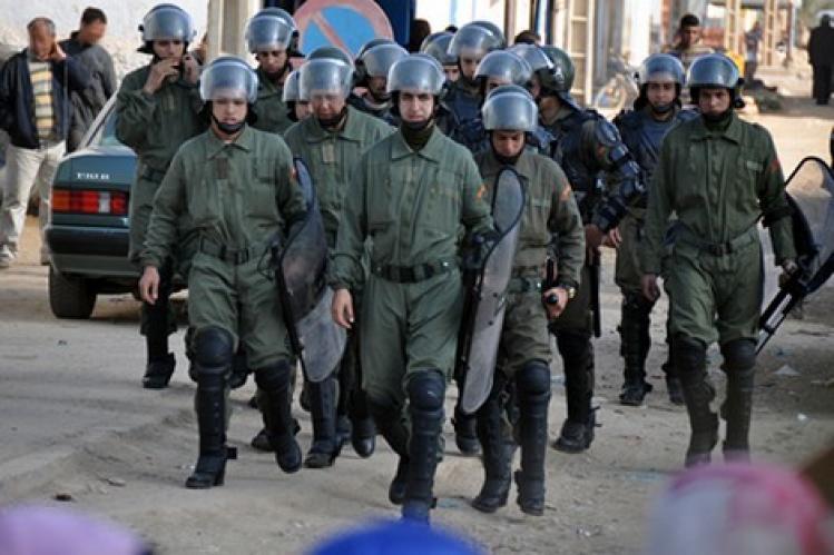 كلميم: القوات العمومية تفرق اعتصام نسائي بالقوة