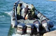 توقيف قارب يحمل 1800 كيلو غرام من مادة الشيرا بطرفاية