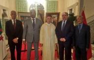 وزير داخلية الجزائر ووزير الاوقاف يشاركان في احتفالات السفارة المغربية بعيد العرش