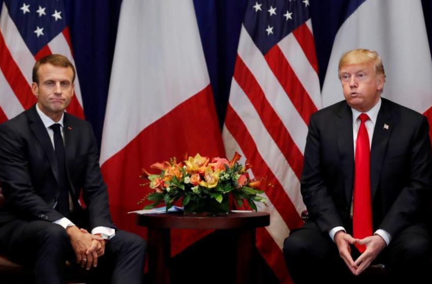 ترامب يندد باقتراح ماكرون إنشاء جيش أوروبي لمواجهة أمريكا