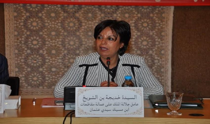 الفضائح تلاحق بن الشويخ بعد مغادرتها عمالة بن امسيك..و اتهامات لها بالمس بحقوق المواطنين