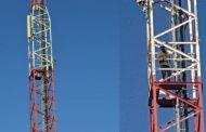 رجلأعمال يُهدد بالانتحار من فوق عمود كهربي ببني ملال