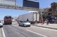 شاحنة ترسل شخصا قرب ميناء طنجة المتوسط الى دار البقاء