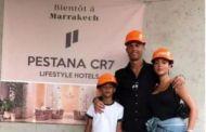 رونالدو يتفقد سير أشغال بناء وحدته الفندقية بمراكش