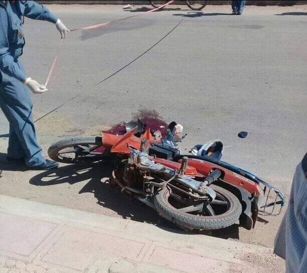 مصرع مسن في حادث اصطدام جرار فلاحي بدراجة نارية بالفقيه بن صالح