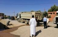 توقيف شاحنة محملة برمال أم الربيع بأولاد سعيد الواد
