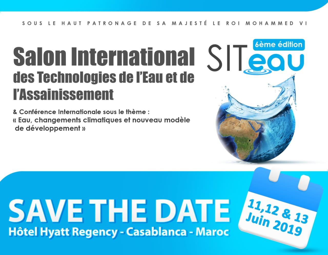 الائتلاف المغربي للماء ينظم النسخة السادسة للمعرض الدولي لتكنولوجيات الماء و التطهير