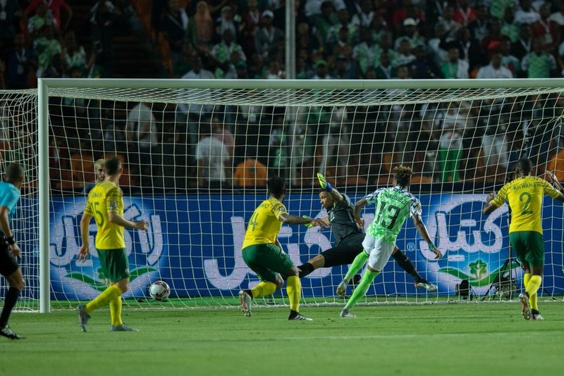 المنتخب النيجيري يتأهل إلى المربع الذهبي على حساب جنوب إفريقيا