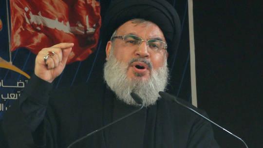حسن نصر الله: نحن قادرون على استهداف إسرائيل وإعادتها الى العصر الحجري