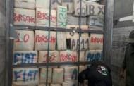 أمن ميناء طنجة المتوسط يحبط شاحنة محملة بالحشيش كانت في طريقها إلى الباخرة