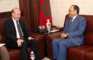 المالكي يجري مباحثات مع المدير الجهوي لصندوق الأمم المتحدة للسكان بالمنطقة العربية