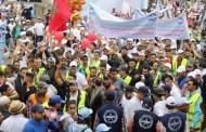 عمال الخدمات الأرضية بمطار محمد الخامس بالبيضاء يعودون للاحتجاج
