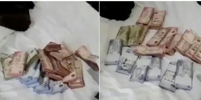 سعودي يسلم فتاة مغربية مبلغ مالي كبير كـ