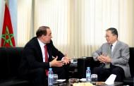 الوزير عبيابة يستقبل سفير جمهورية الصين الشعبية بالمغرب