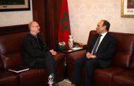 المالكي يستقبل مدير مكتب البنك الدولي لمنطقة المغرب العربي ومالطا