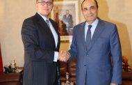 رئيس مجلس النواب يستقبل سفير البيرو بالرباط