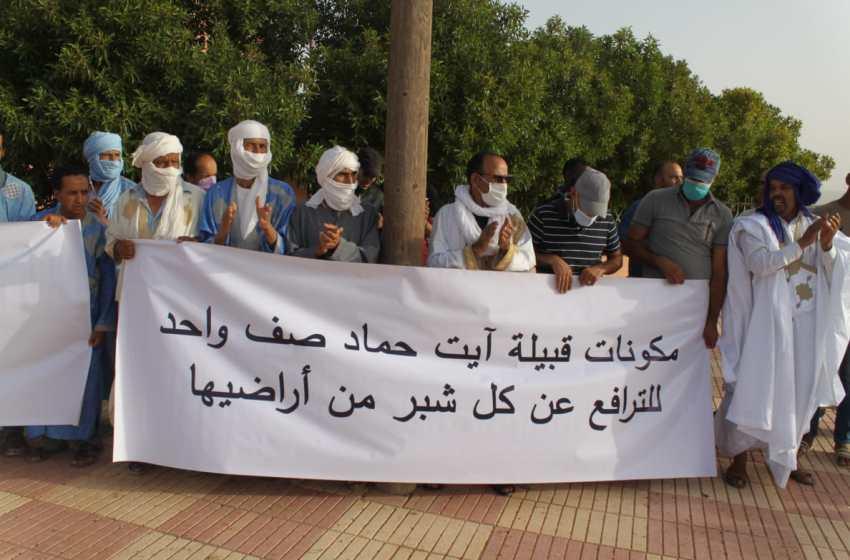 قبيلة أيت حماد بفاصك- اقليم كلميم تضحد المغالطات التي تم الترويج لها بعد حادث إطلاق النار من بندقية صيد بأراضيها